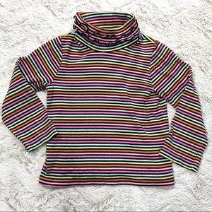 Gymboree Rainbow Striped Turtleneck Shirt